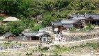 Visitors walking around Yangdong village in Gyeongju, file pic