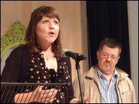 Catrin Dafydd a Gareth Lewis