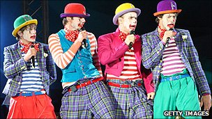 Take That's Circus tour