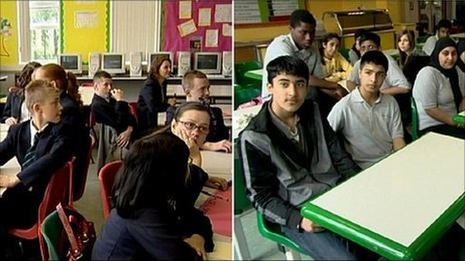 Counthill and Breeze Hill pupils