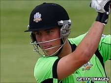 Surrey captain Rory Hamilton-Brown