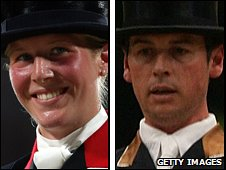 Laura Bechtolsheimer and Carl Hester