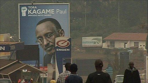 Rwanda street scene
