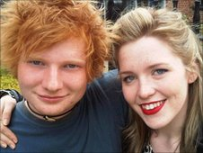 Ed Sheeran and Sophie Little