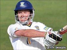 Durham batsman Gordon Muchall