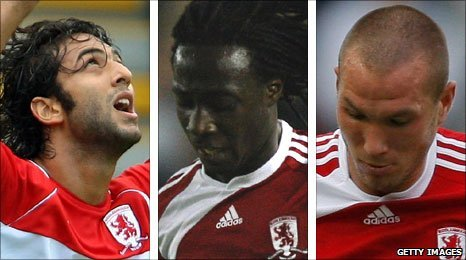 Mido, Marvin Emnes and Didier Digard