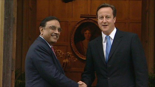 Zardari and Cameron