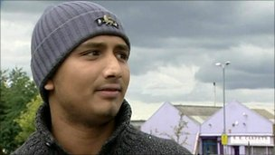 Zakariah Ahmed, resident affected by cameras in Birmingham