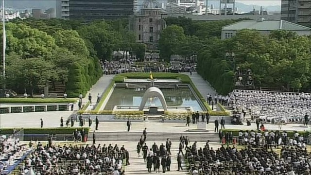 Hiroshima 65th anniversary ceremony