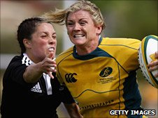 Debby Hodgkinson is one of eight World Sevens champions in the squad