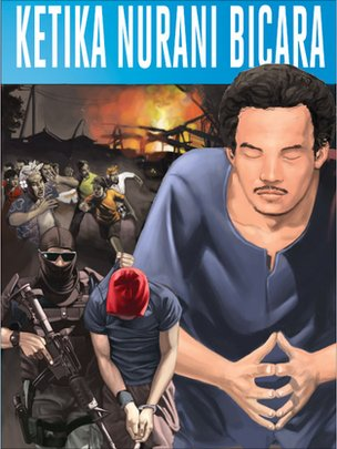 Front cover of the new comic Ketika Nurani Bicara