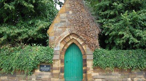 The door of Northampton Castle