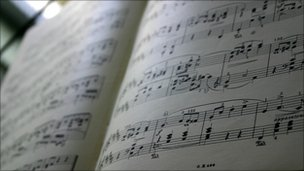 Sheet music (generic)