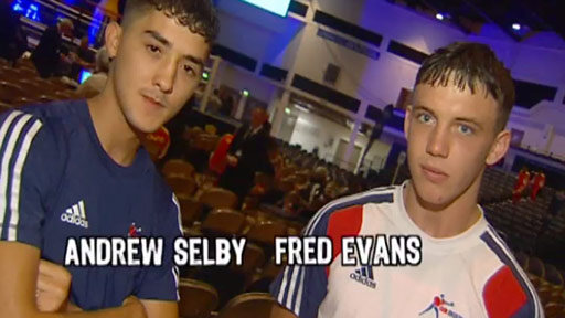 Sport Wales' Delhi Dreams series profiles Andrew Selby and Fred Evans