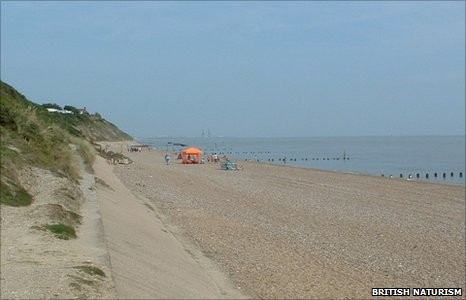 Corton beach, Suffolk