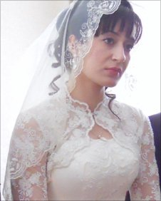 Zulikhan at her wedding