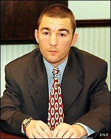 Former boxer Paul Weir