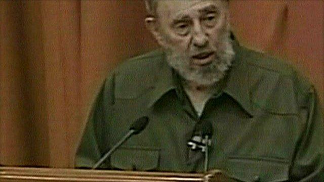 Cuba's former president, Fidel Castro