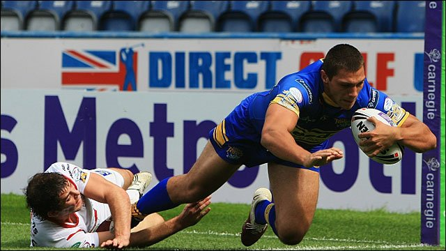 Ryan Hall scores for Leeds