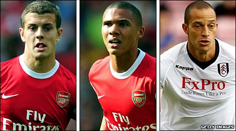 Wilshere, Gibbs and Zamora make a revamped England squad