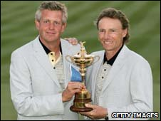 Colin Montgomerie and Bernhard Langer