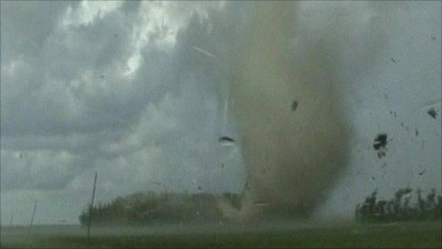 US tornado
