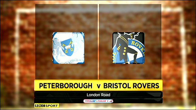 Peterborough 3-0 Bristol Rovers
