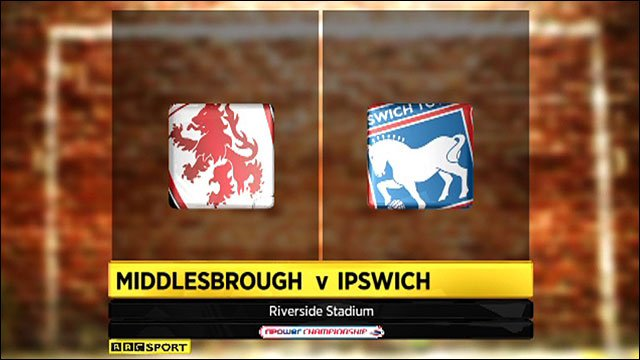 Highlights - Middlesbrough 1-3 Ipswich
