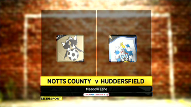 Notts County v Huddersfiled