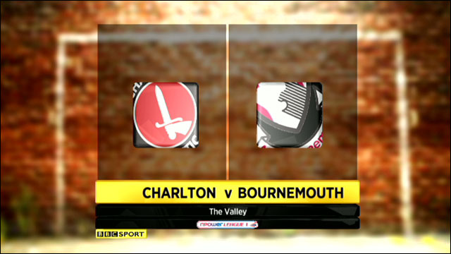 Charlton v Bournemouth