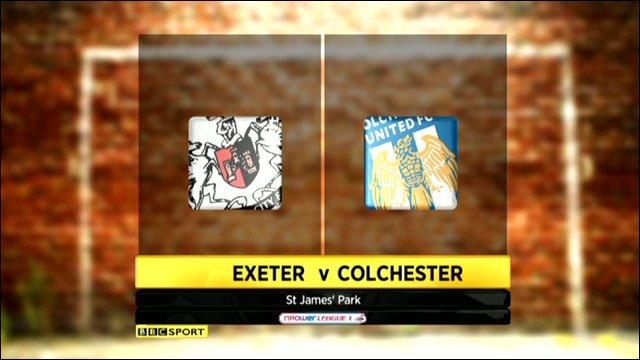 Exeter v Colchester