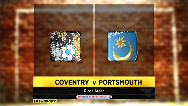 Highlights - Coventry 2-0 Portsmouth