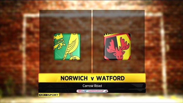 Norwich 2-3 Watford