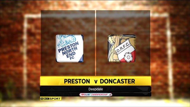 Preston 0-2 Doncaster