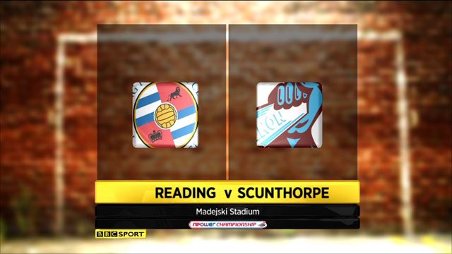 Reading 1-2 Scunthorpe