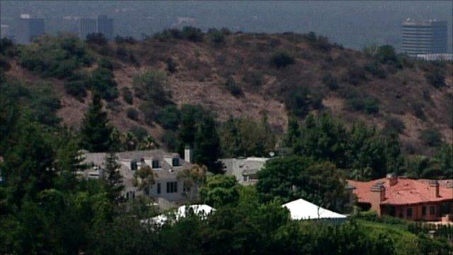 Robbie Williams' Beverly Hills mansion