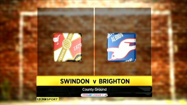 Swindon 1-2 Brighton
