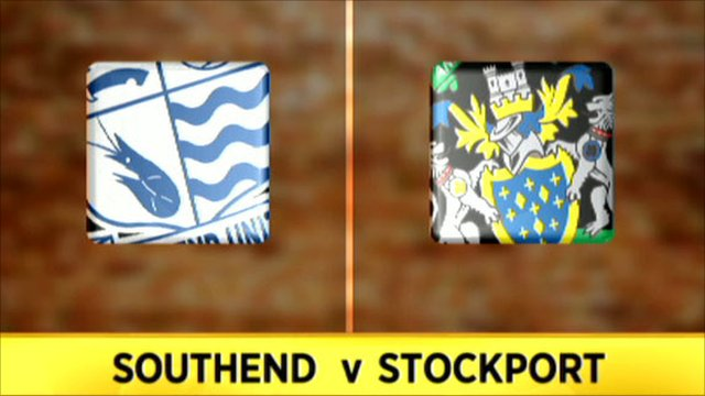 Southend v Stockport