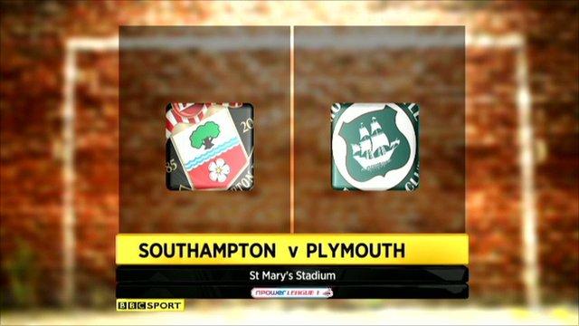 Southampton 0-1 Plymouth