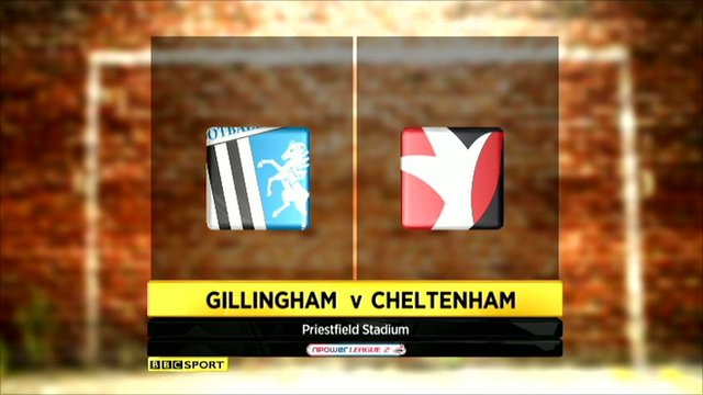 Highlights - Gillingham 1-1 Cheltenham