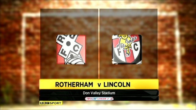 Rotherham 2-1 Lincoln