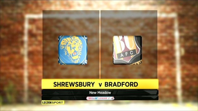 Highlights - Shrewsbury 3-1 Bradford