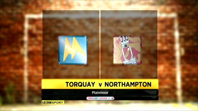 Highlights - Torquay 3-0 Northampton