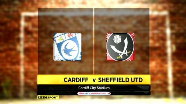Cardiff 1-1 Sheff Utd