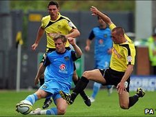Burton Albion and Oxford battle it out at the weekend