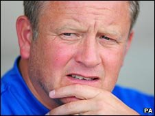 Oxford boss Chris Wilder