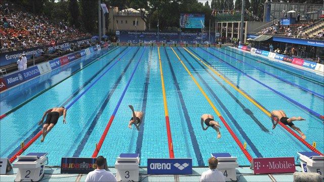 European Championship swimming