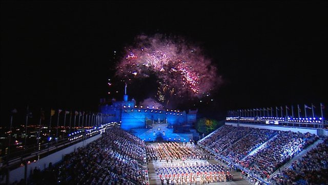 Now the Royal Edinburgh Military Tattoo is 60 years