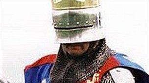 Actor playing Richard III