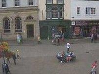 Keswick town centre